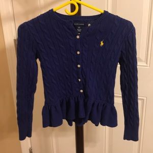 Girls Polo sweater
